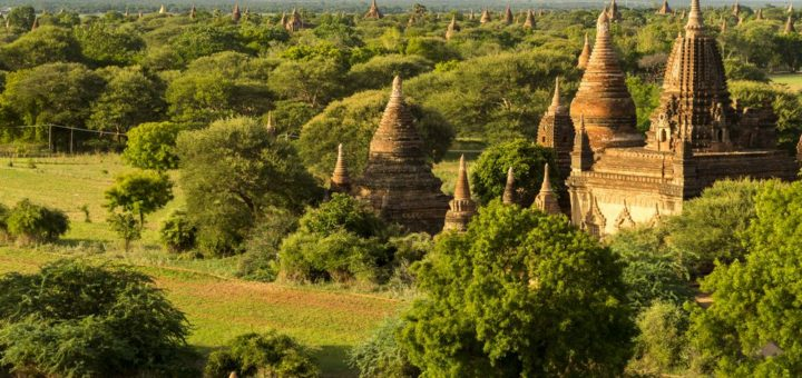 Old Bagan and Nyaung-U