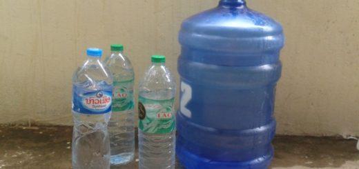 How to save on potable water in Luang Prabang, Laos
