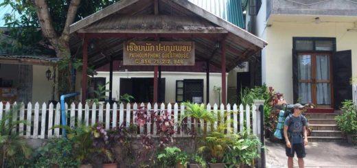 Pathoumphone guesthouse, Luang Namtha, Laos
