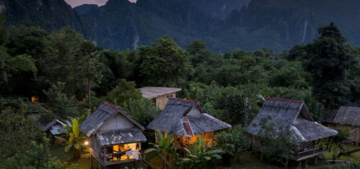 Nam Song Garden: recommended guesthouse for Vang Vieng, Laos
